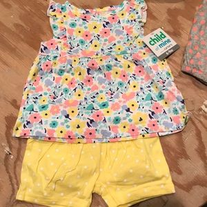 Matching Sets - Baby clothes, bibs, & toy